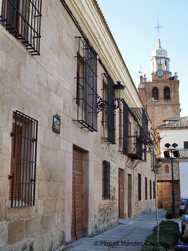 Hospital de Puente del Arzobispo, hoy residencia de ancianos