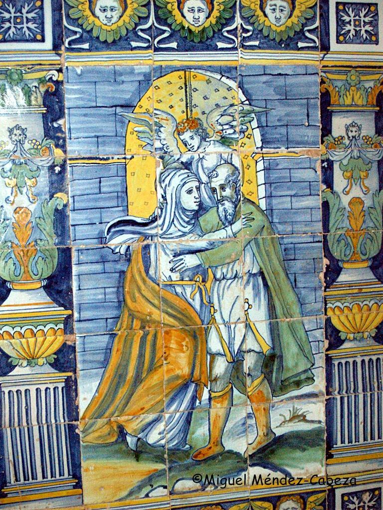 Azulejería talaverana del siglo XVI en la ermita de Piedraescrita
