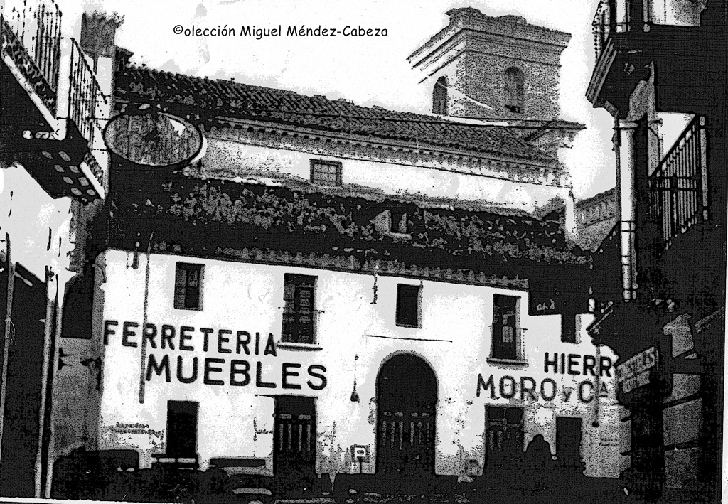 La iglesia de San Pedro convertida en Almacenes Moro y luego derruida por la misma empresa