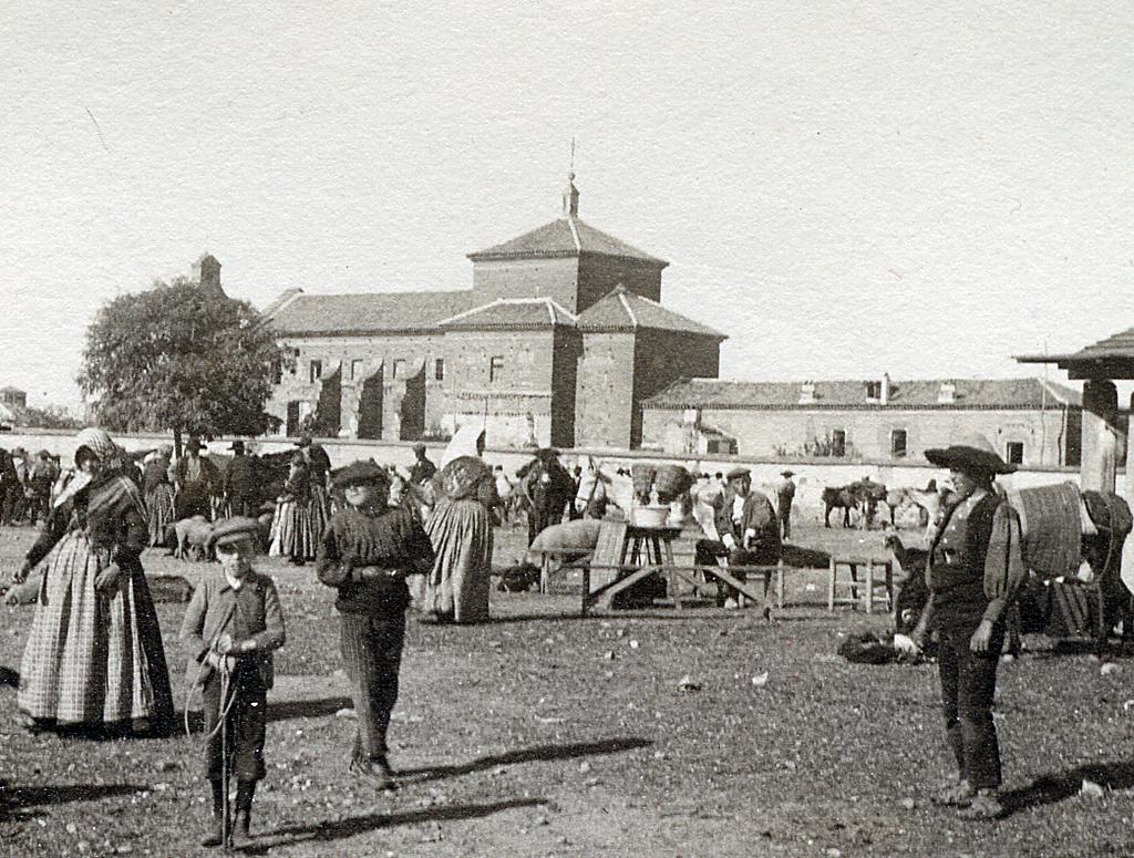 Fotografía del antiguo teso de ganados que llegaba hasta la actual calle de San Isidro quedando el convento de la Trinidad casi en las afueras