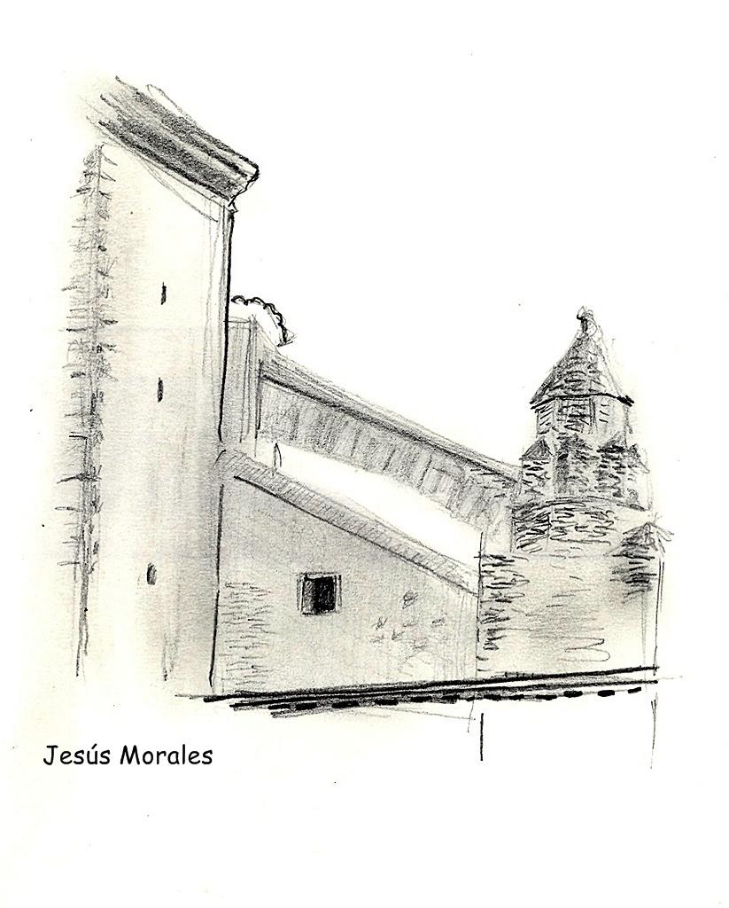 Detalle arquitectónico de La Colegial de Jesús Morales