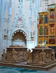 Sepolcro de Alvaro de Luna y su esposa en la catedral de Toledo