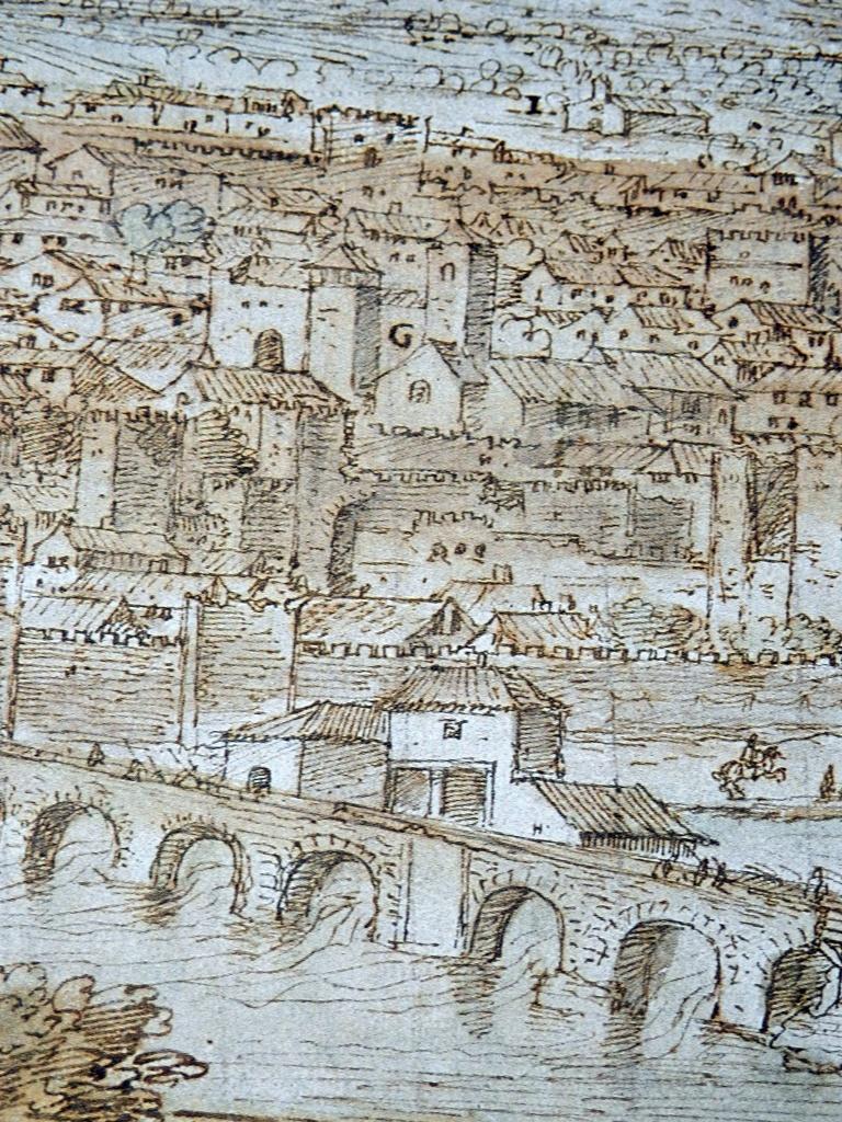 Puente Viejo y Molinos de Arriba.
