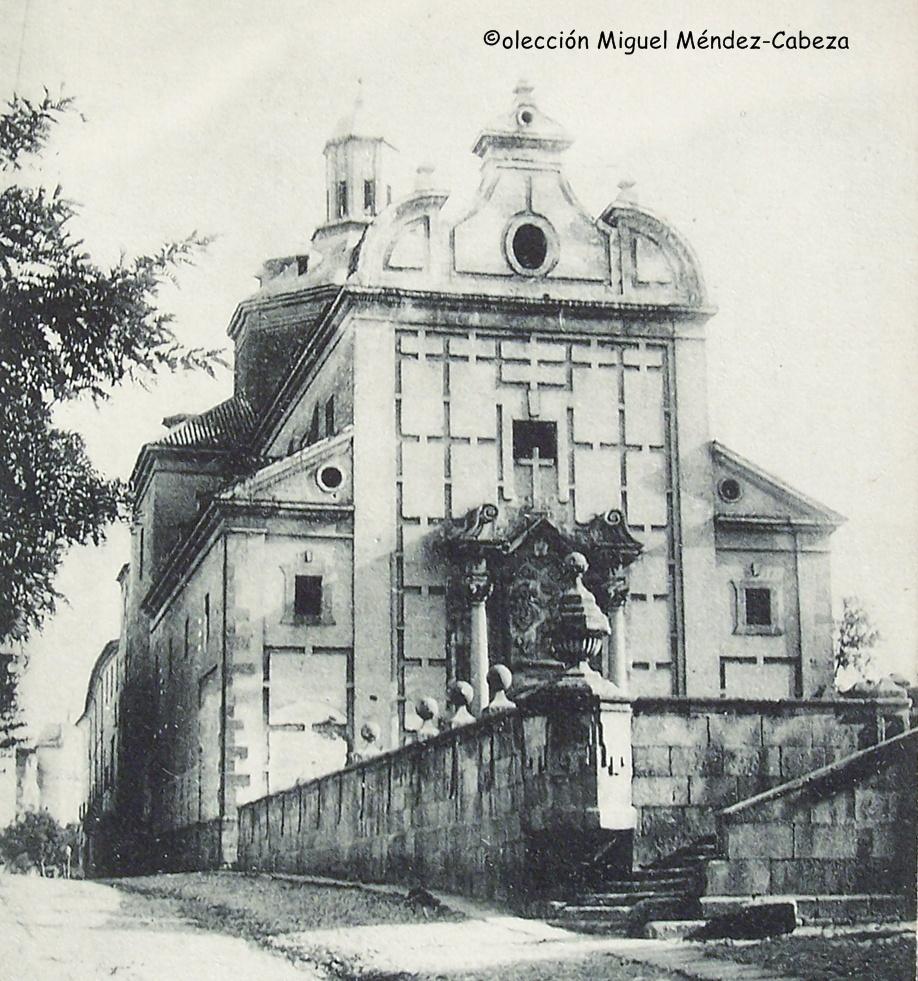 Iglesia de los jesuitas, ocupado actualmente por el teatro Palenque y el mercado de Abastos