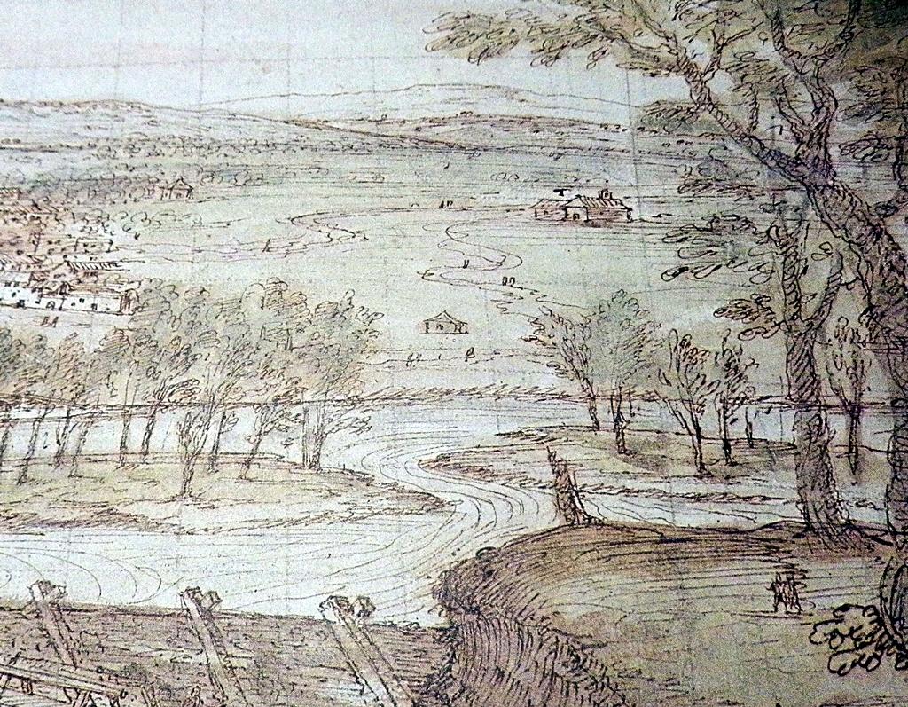 El-prado-con-la-ermita-de-la-virgen-y-la-ermita-de-San-Joaquin-y-Santa-Ana