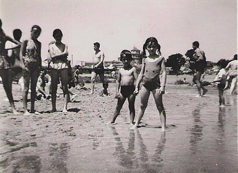 Cuando los niños talaveranos disfrutaban de su río