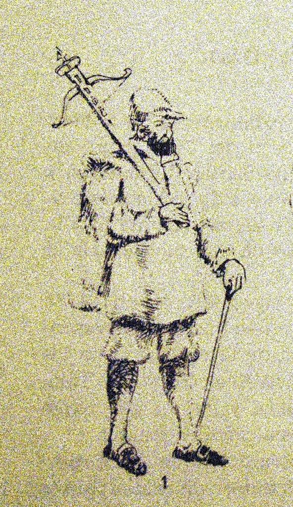 Cuadrillero de la Santa Hermandad del siglo XVIII