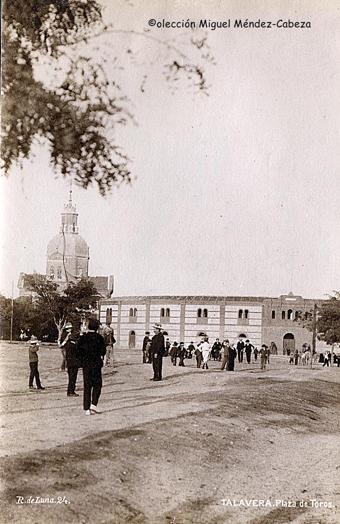 Plaza de toros de Talavera a principios del siglo XX