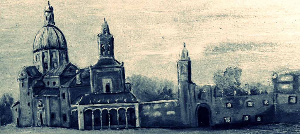 La plaza de toros estuvo desde antiguo unida a la ermita y el hospital de la Virgen del Prado