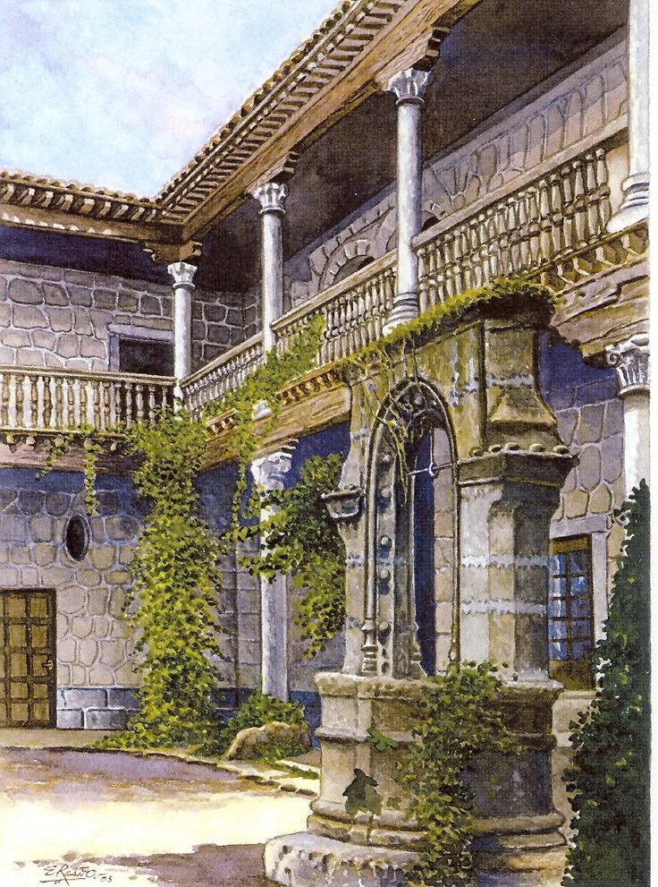 Uno de los palacios donde pudieron pernoctar los vaijeros de hace 500 años. El mal llamado de Francisco de Aguirre(casa de Borrajo) hoy desparecido