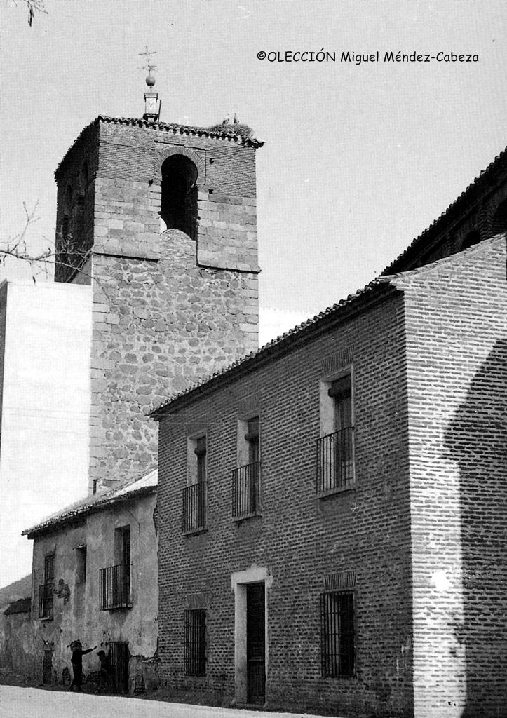 Fotografía de la iglesia de San Miguel de los años 40