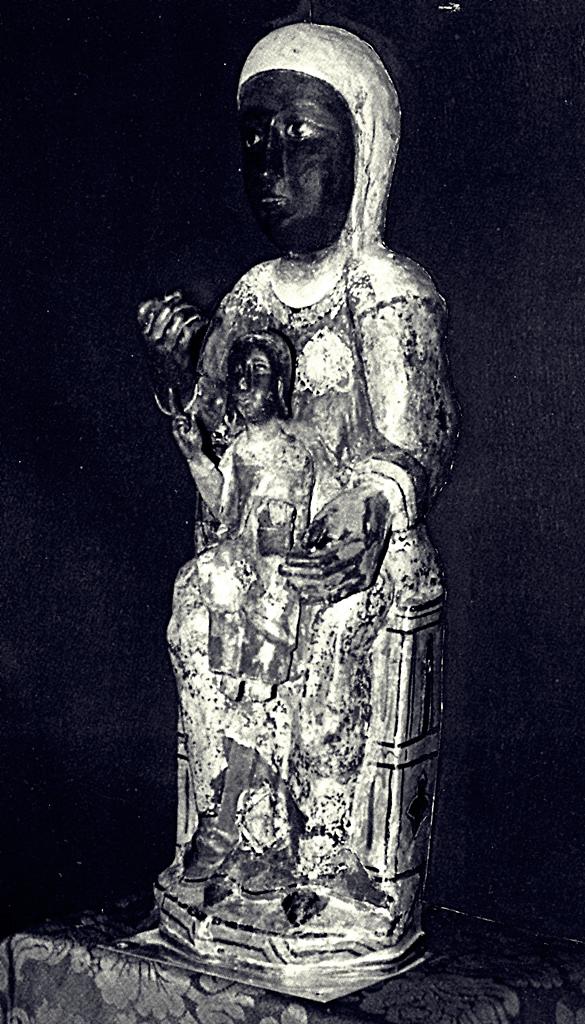 Talla de la Virgen de Guadalupe