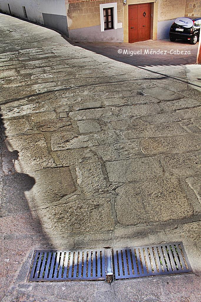 Enlosado granítico en Herreruela de Oropesa