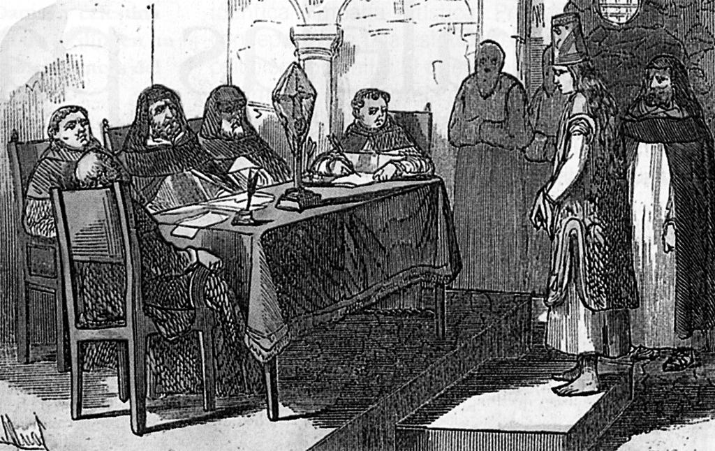 Proceso de un hereje por la inquisición