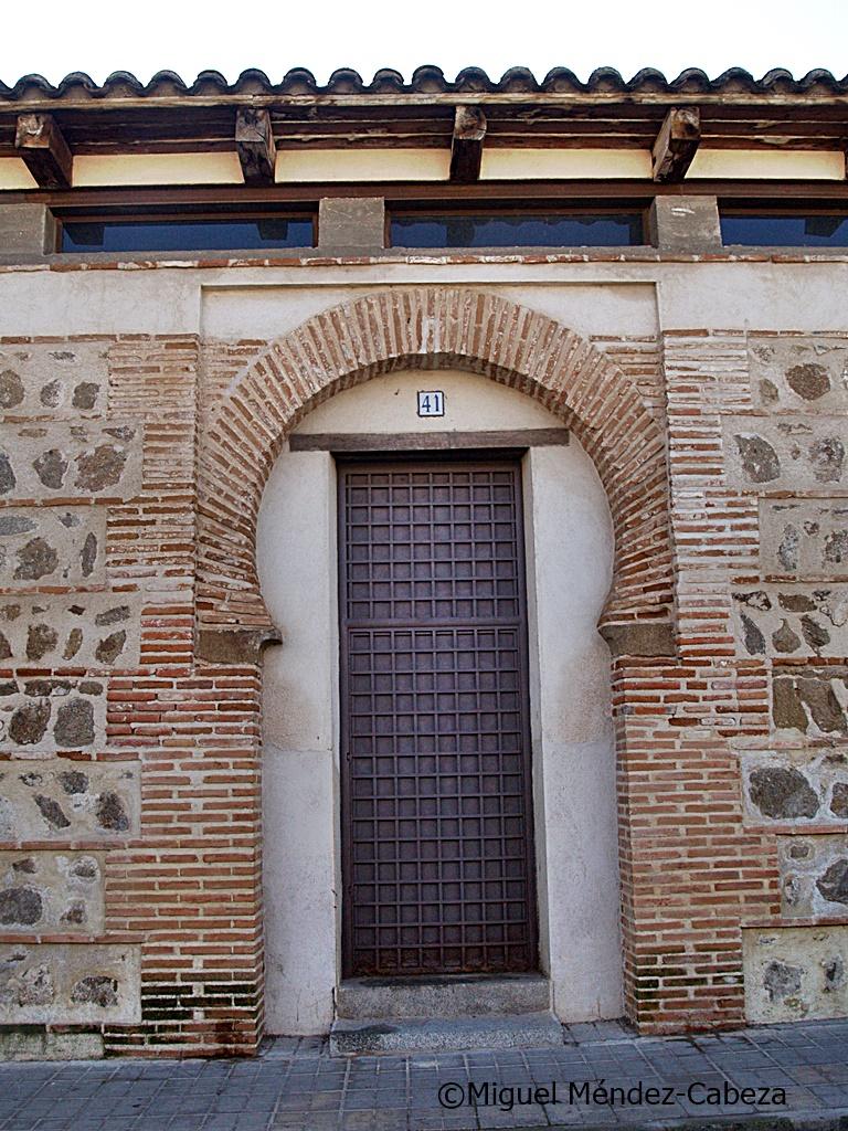 """Puerta mudéjar de """"Santiaguito"""""""