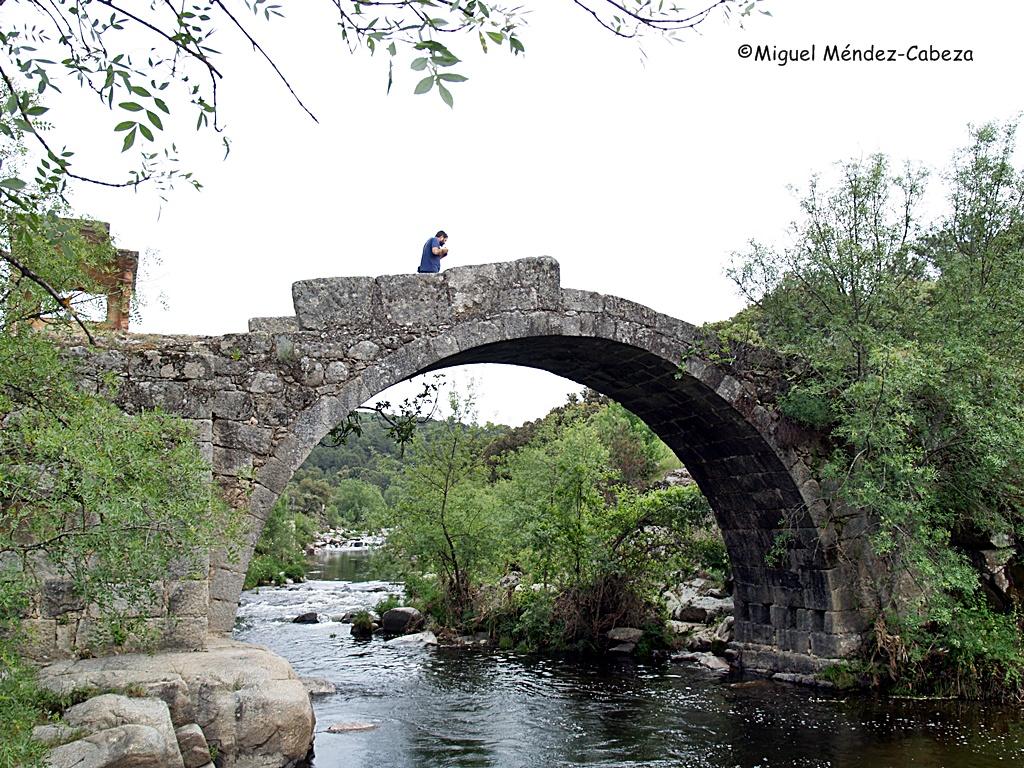 Puente sobre el Tiétar en La Iglesuela