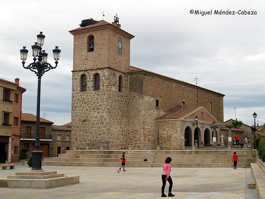 Plaza de Segurilla, donde se desarrollan los acontecimientos del relato de Eugenio Noel