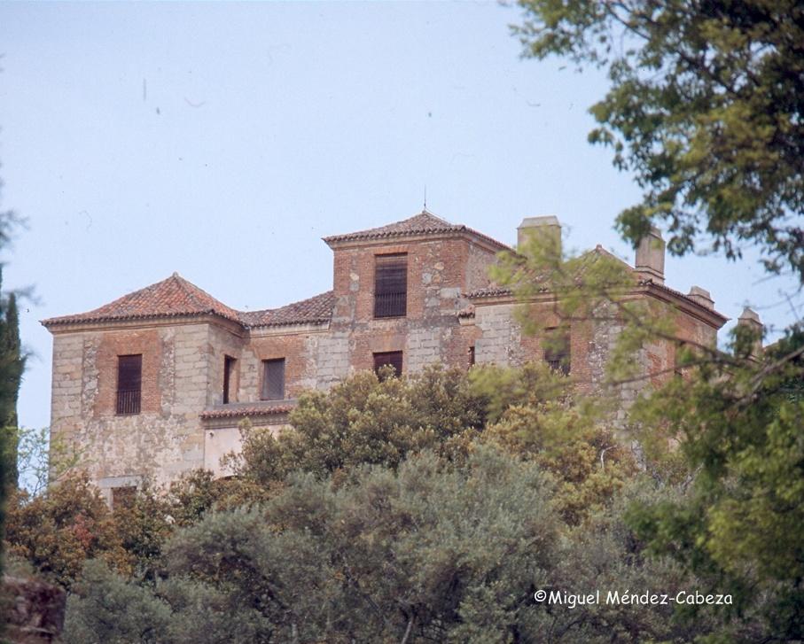 Palacio de Rosarito en fotografía de hace unos años