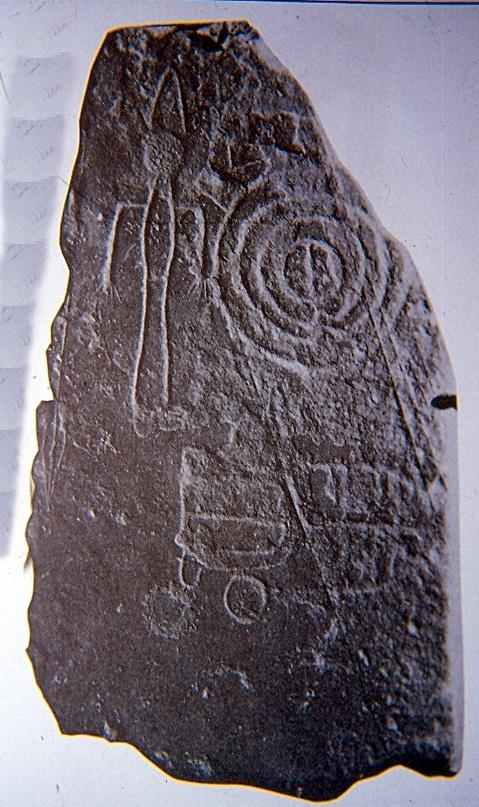 Estela de guerrero de Las Herencias de la Edad del Bronce
