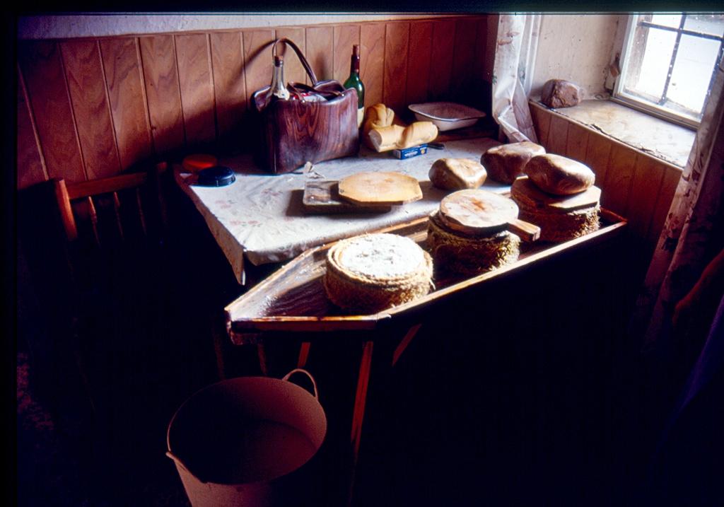 Haciendo queso en Aldeanueva