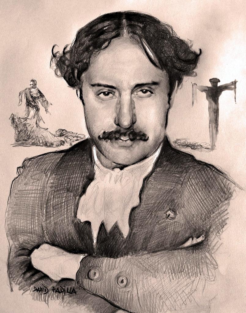 Retrato del escritor antitaurino Eugenio Noel