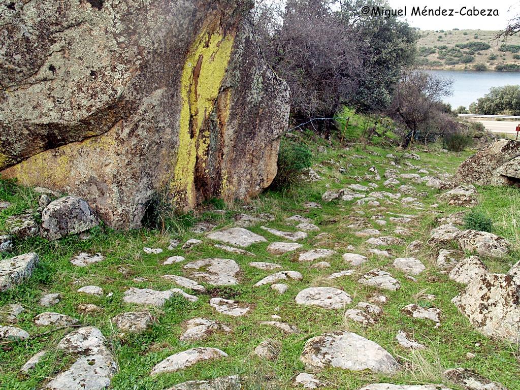 Calzada romana de Aldeanueva de Barbarroya