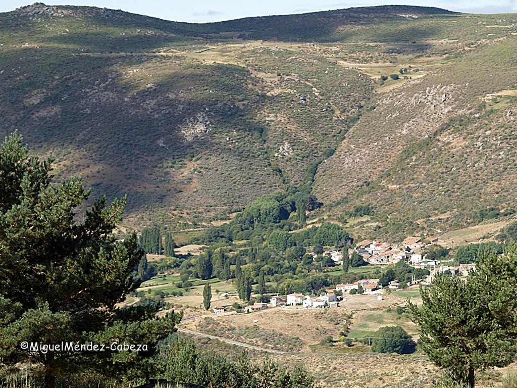 El pueblo de Navalsauz en Gredos