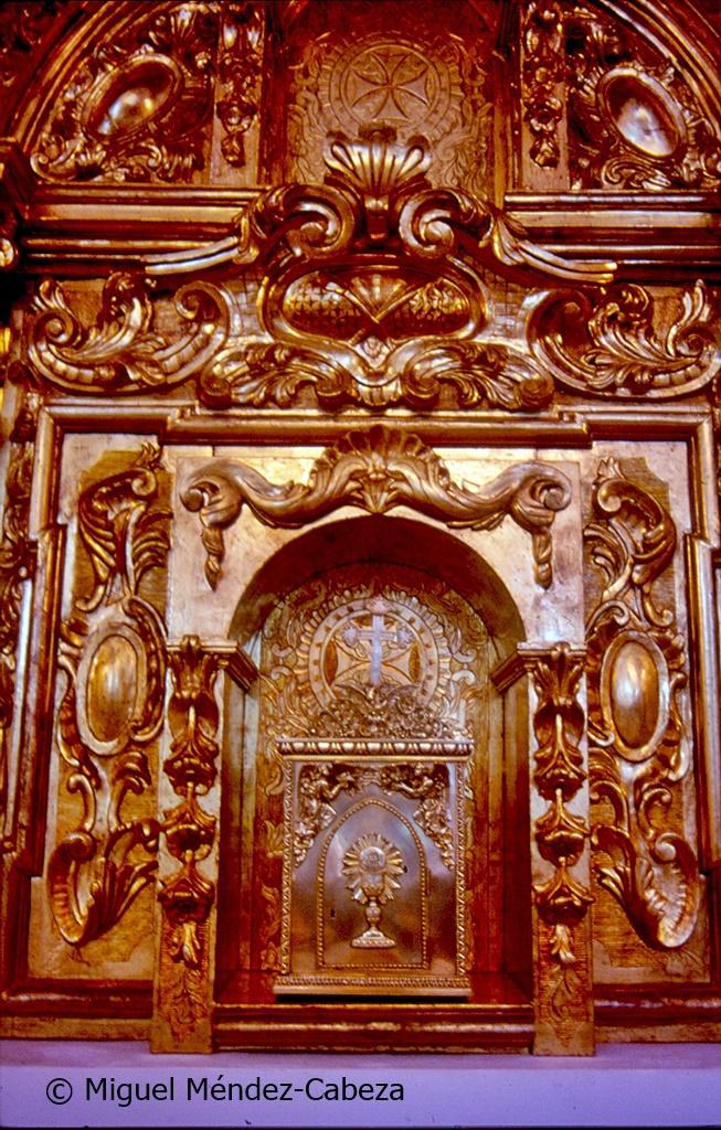 Retablo de Torrecilla que procede de la iglesia de El Salvador de Talavera´donde era uno de los retablos laterales